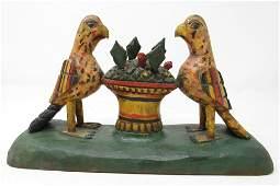 Wood Bird Carvings Att. To Robert Stauffer Schimmel