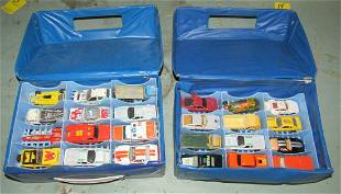 Hot Wheels Matchboxes and Carrying Cases
