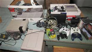 Super Nintendo Sony Playstation Systems Games & More