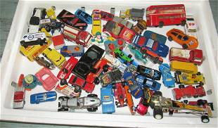 Box Full of Matchboxes and Misc Toy Cars