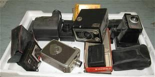 Kodak Brownie Video Camera Target Six-16 Polaroids
