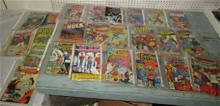 Superman Flash Master of Kung Fu Comics Mad Magazines