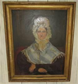 O/C Wife of Major Wm Edgar Baker CJ Kretzinger Painting