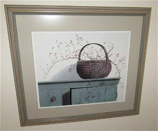 Pauline Campanelli Print Basket Cupboard
