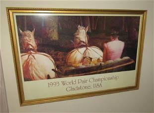 1993 World Pair Championship Gladstone USA Print
