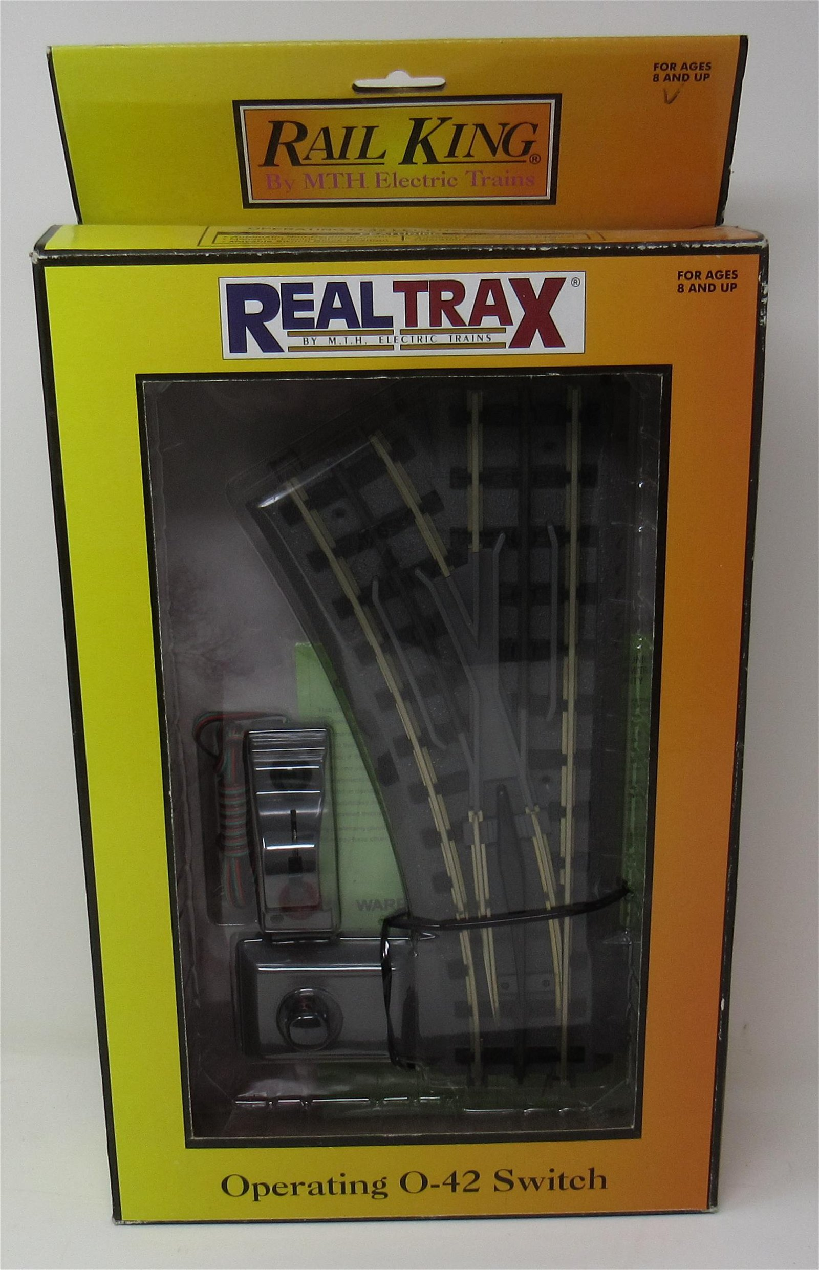 Rail King Real Trax Operating 0-42 Left Switch Track