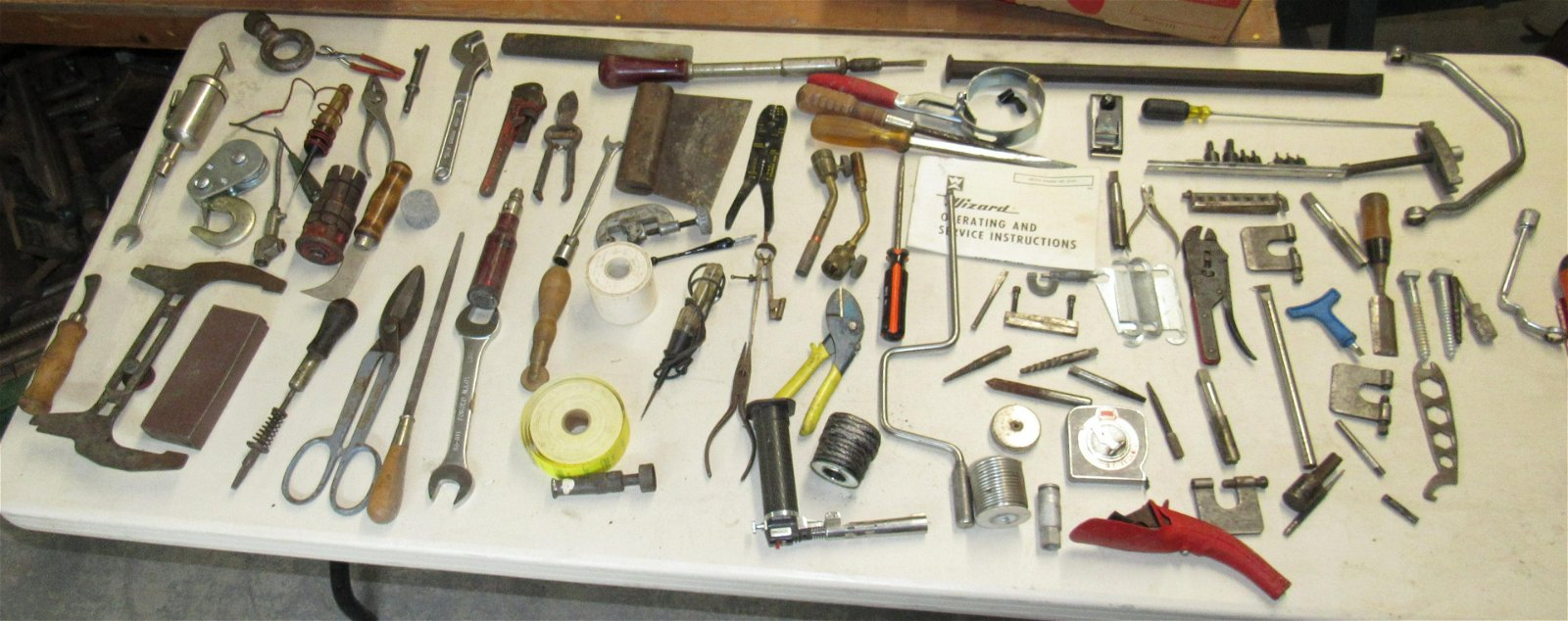 Table Contents of Misc Tools