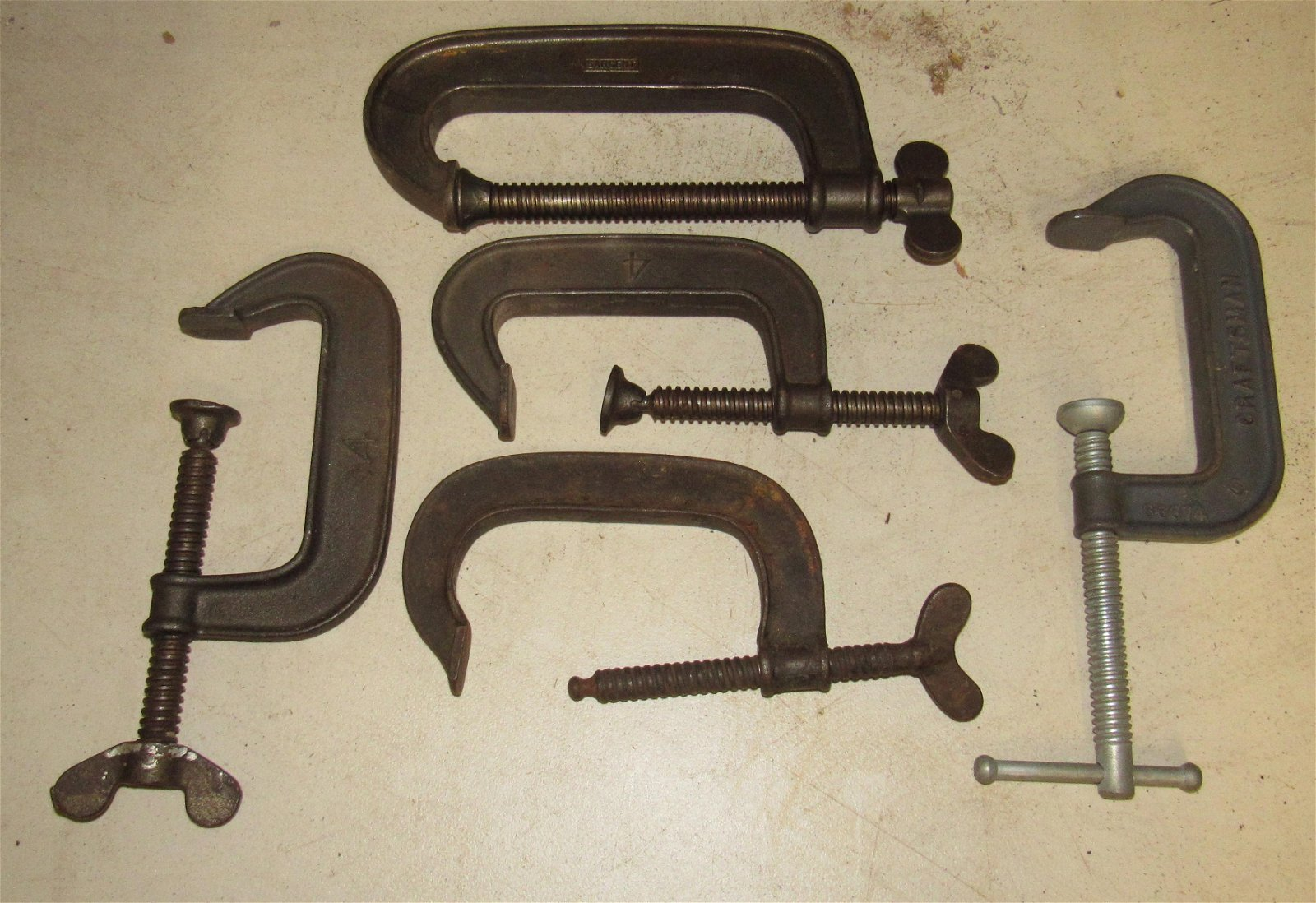 Stearns Craftsman and Sargeant Clamps