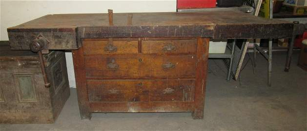 Carpenters / Cabinet Makers Bench Workbench