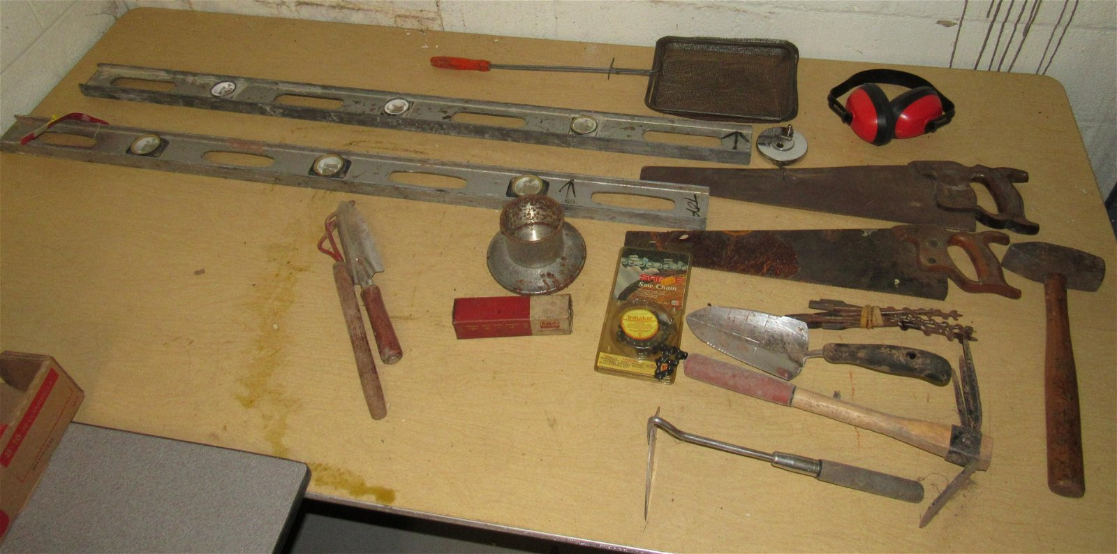 Hammer Disston Hand Saws Tools Table Contents