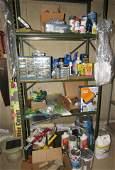 Shelf Contents Tools Parts Cabinet