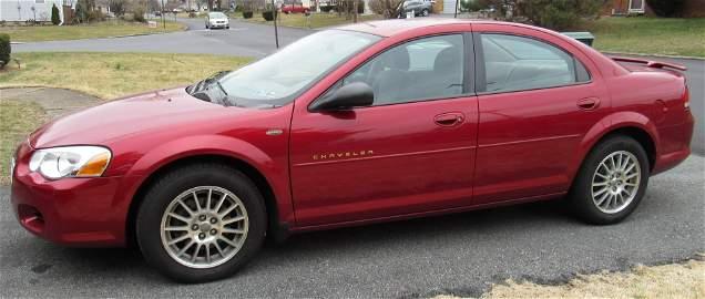 2004 Chrysler Sebring 30,940 Miles