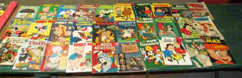 Lot of Vintage 10 Cent Comic Books