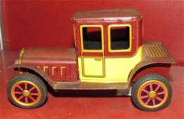 Tin Friction Car