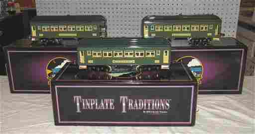 Tinplate Traditions 710 Series Passenger Set MTH