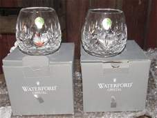 Waterford Crystal Lismore Votive Candle Holders