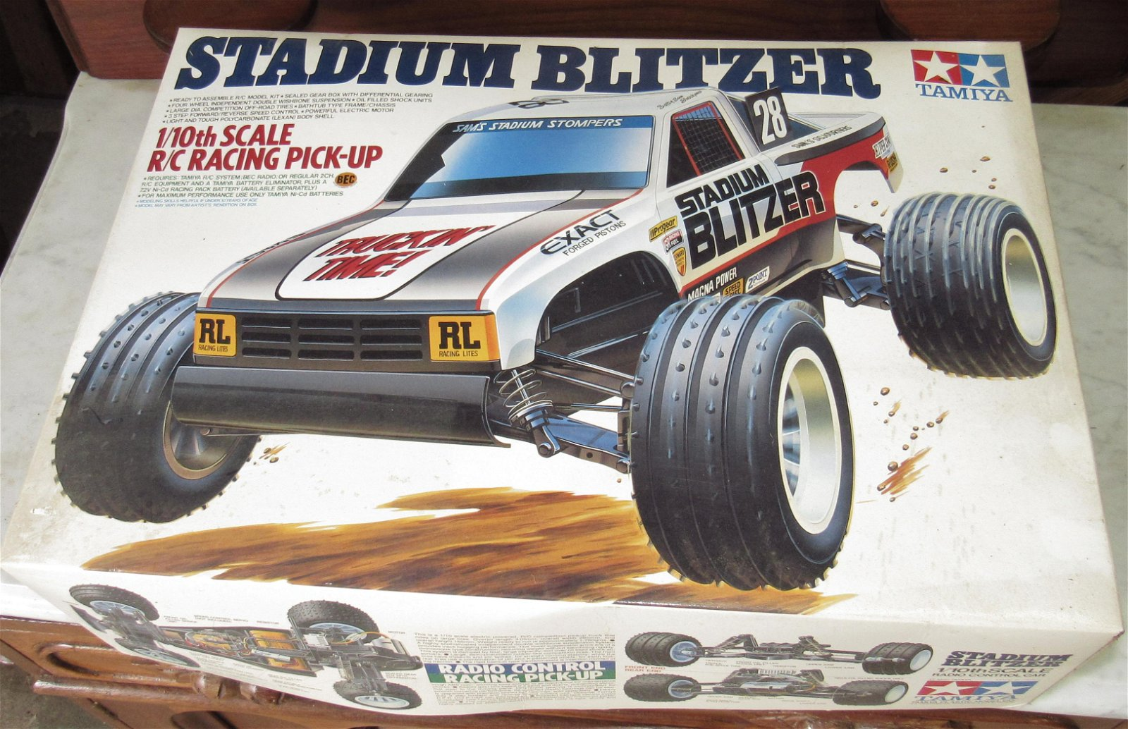 Tamiya Stadium Blitzer RC Racing Pick Up