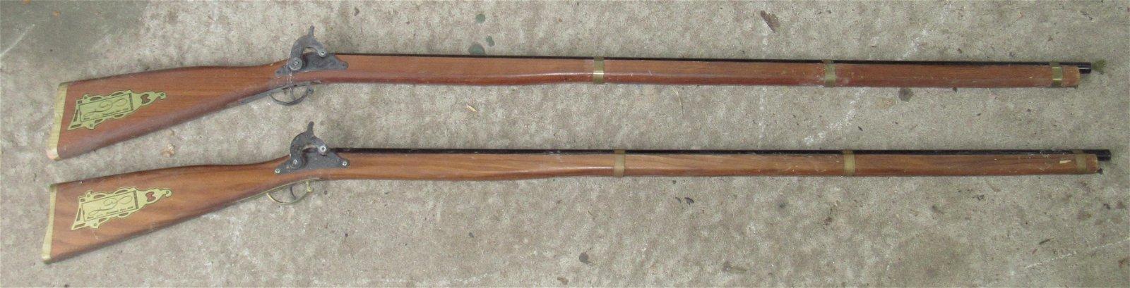2 Parris Replica Flintlock Toy Guns