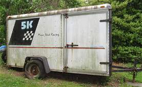 1989 Wells Cargo 6x12 Enclosed Trailer