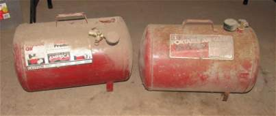 2 Portable Air Tanks