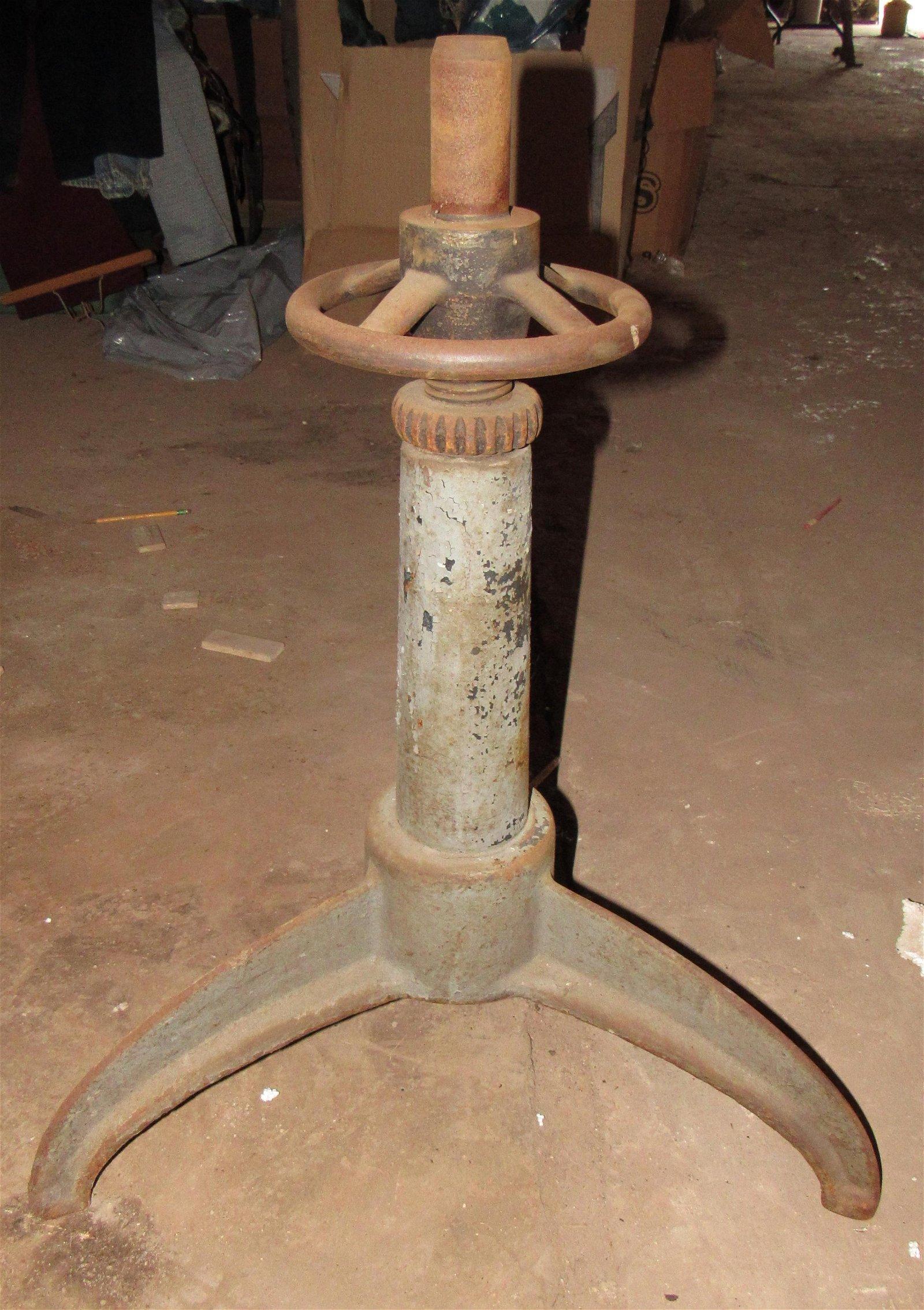 Antique Cast Iron Table Base