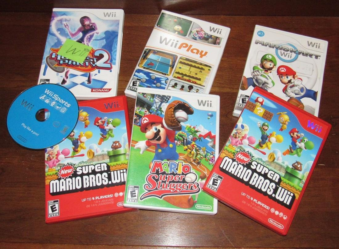 Wii Games and Lego Manual