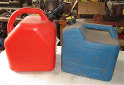 Gas and Kerosene Can