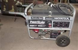 Honda Powerstroke 6800 Watt Generator with Electric