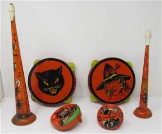 Halloween Noisemakers