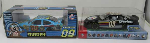 Action Digger Darrell Waltrip Signede Steelers Diecast