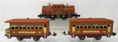 Lionel 252 Locomotive 529 530 Cars