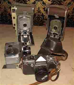 Polaroid Land Cameras Petri Penta Yashica Video Camera