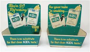 2 Kool Cigarette Displays