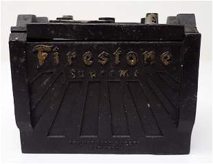 Firestone Hard Rubber Trinket Box
