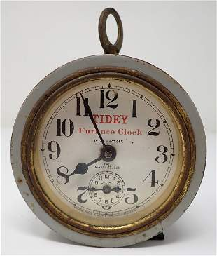 Greene Tweed Tidey Furnace Clock