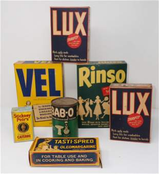 Bab-O Lux Rinso Vel Cleaner Boxes / Can