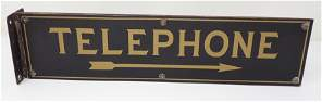Double Sided Telephone Flange Sign