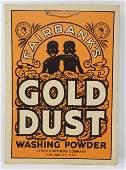 Fairbanks Gold Dust Washing Powder Sign