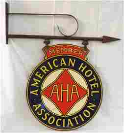 American Hotel Association Sign