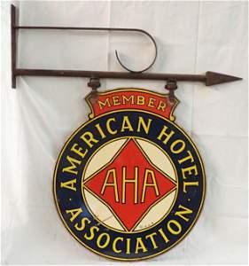 American Hotel Association Sign