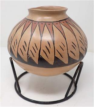 Signed Indian Pot