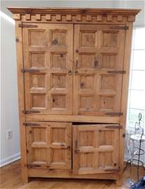 Large Pine Cabinet