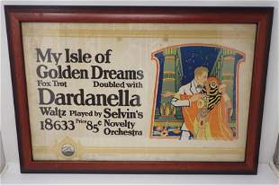 My Isles of Golden Dreams Fox Trot RCA Victor Poster
