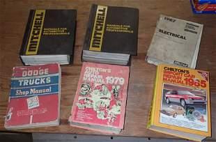 Dodge Trucks Mitchell Chilton Shop Manuals