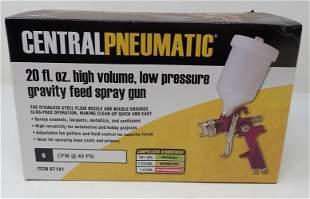 Central Pneumatic Low Pressure Spray Gun