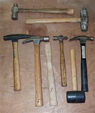 Pick Rock Carpenter & Ball Peen Hammers