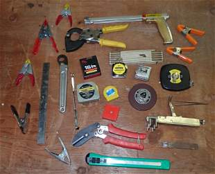 Tape Measures Snips Clamps Cable Cutters