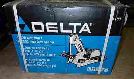 "Delta 1"" Belt / Disc Sander NEW !"