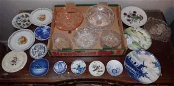 Delfts Royal Copenhagen Depression Glass