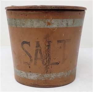 Wooden Salt Box